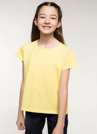 DeFacto Basic Body Sarı